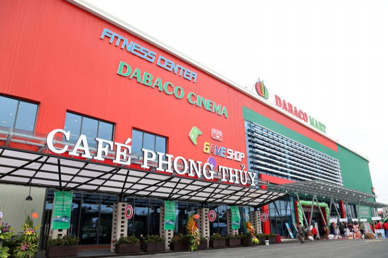 Siêu thị Dabaco nằm rất gần nhà ở xã hội thu nhập thấp HUDLAND Bắc Ninh
