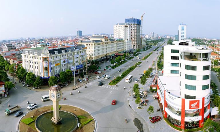 Trung tâm Tp. Bắc Ninh - Vị trí cực đẹp của dự án nhà ở thu nhập thấp Hudland