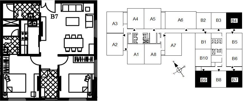 Căn hộ 2 phòng ngủ đẹp nhất chung cư 122 Vĩnh Tuy - Udic Riverside 2