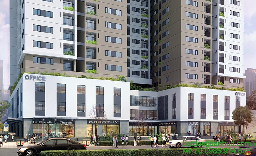 Bán Kiot chung cư Hà Nội: Hà Đông, Hoàng Mai, Cầu Giấy 2