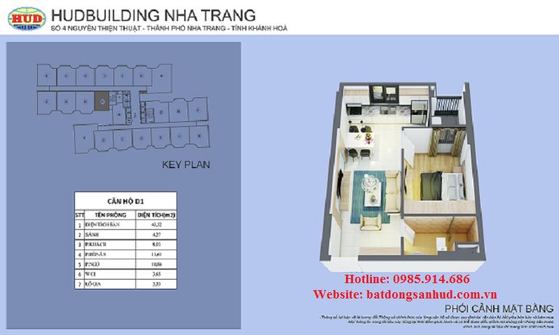 Chung cư số 4 HudBuilding Nha Trang 4