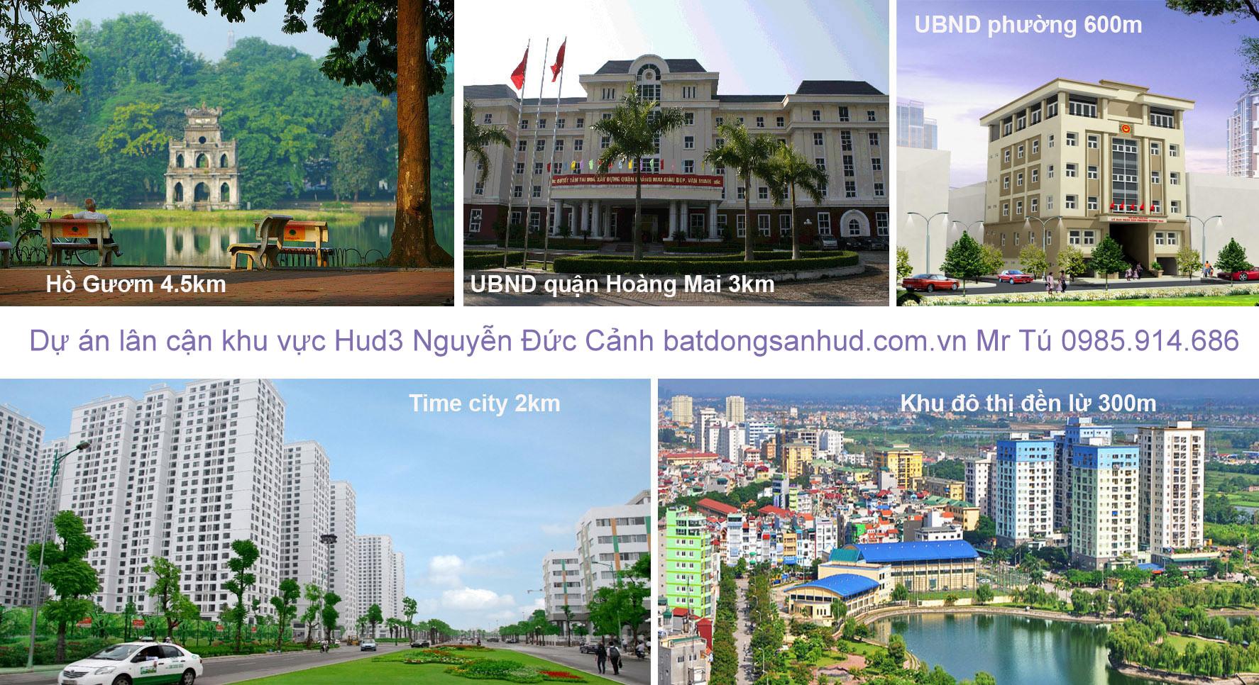 Môi trường cảnh quan của chung cư do chủ đầu tư HUD xây dựng 1