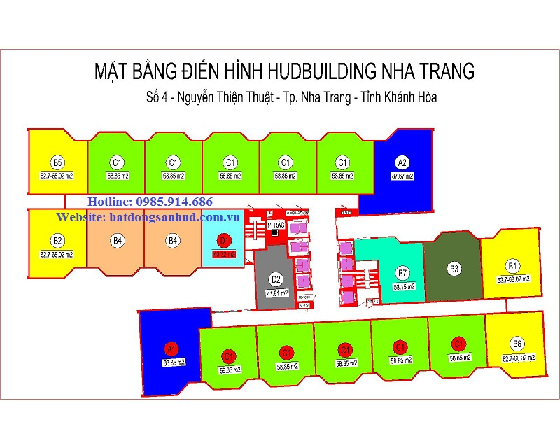 Chung cư số 4 HudBuilding Nha Trang 3