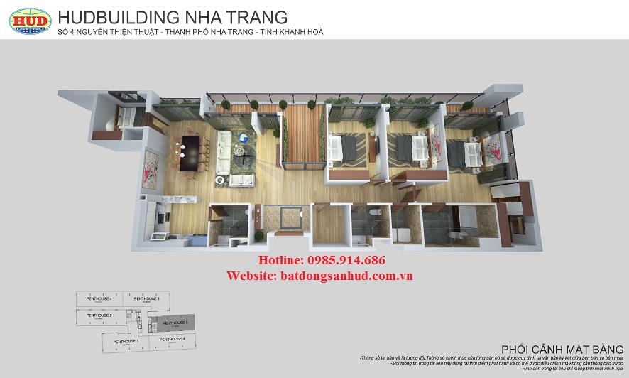 Chung cư số 4 HudBuilding Nha Trang 10