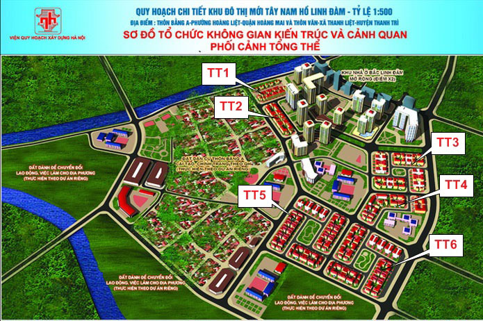 Biệt thự Tây Nam Linh Đàm 2