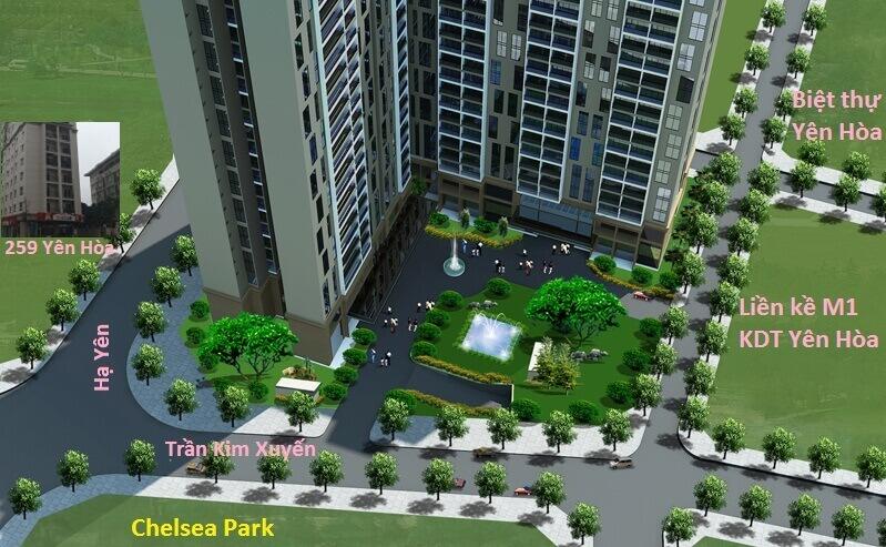 Chung cư E2 Yên Hòa – Chelsea Residences 2