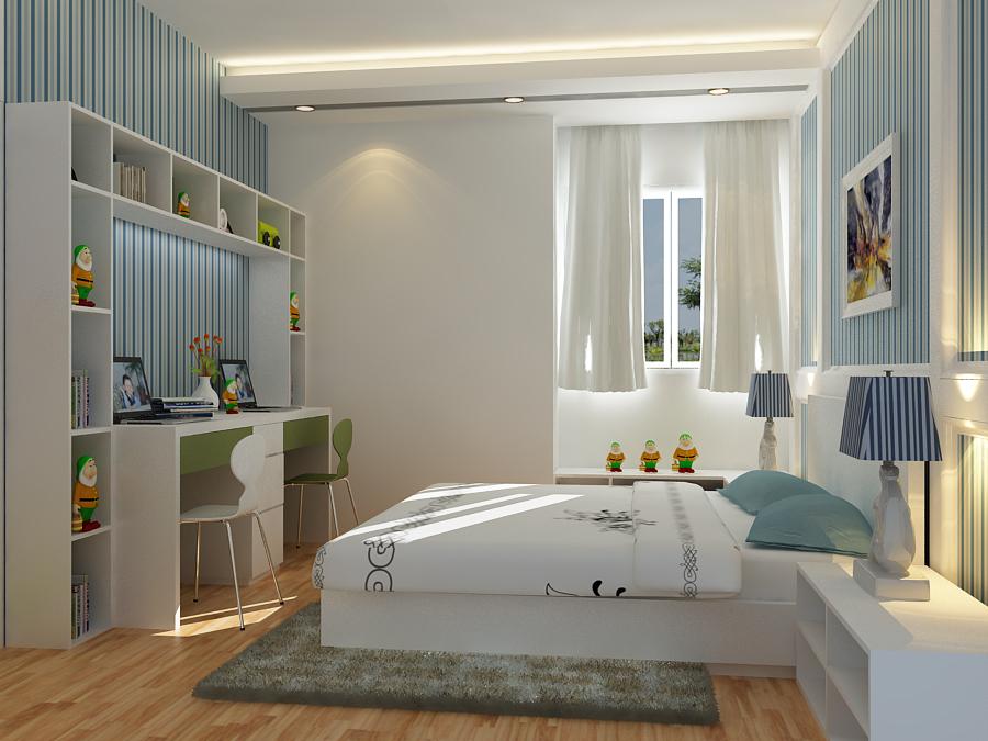 Cách trang trí phòng ngủ cho căn hộ chung cư có diện tích nhỏ 2