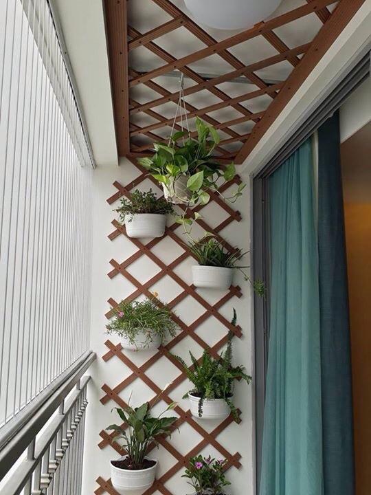Trang trí ban công nhỏ chung cư thiết kế đẹp tối ưu nhất 2