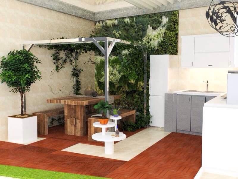Trang trí ban công nhỏ chung cư thiết kế đẹp tối ưu nhất 3