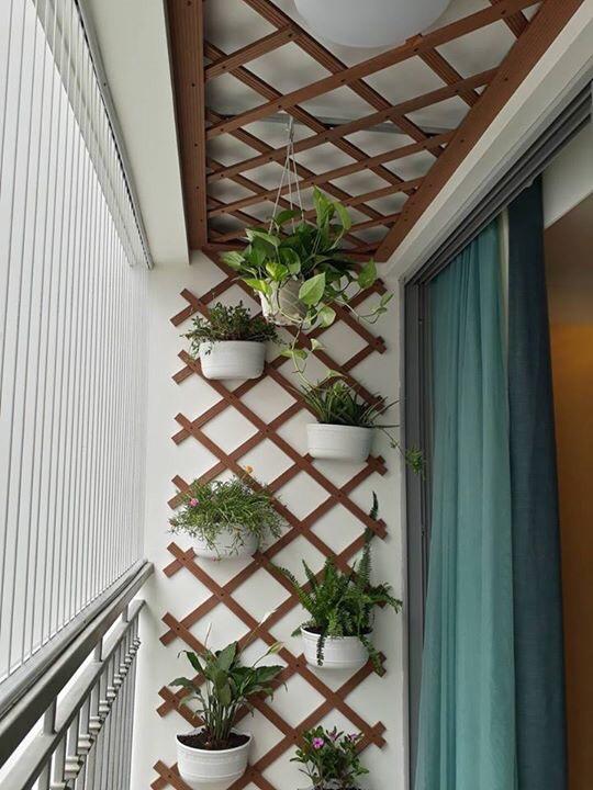 Trang trí ban công nhỏ chung cư thiết kế đẹp tối ưu nhất 1