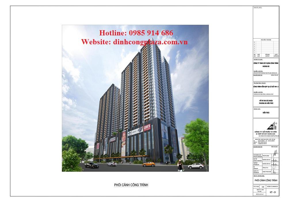 Dự án chung cư Đinh Công Plaza 2