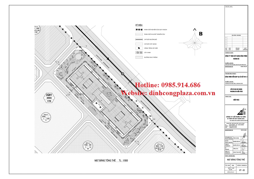 Dự án chung cư Đinh Công Plaza 6