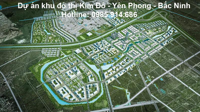 Dự án khu đô thị Kim Đô - Yên Phong - Bắc Ninh 1