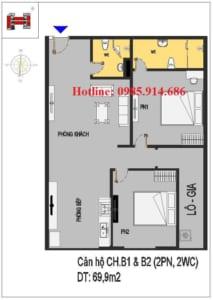 Nhà ở xã hội Rice City Thượng Thanh 6