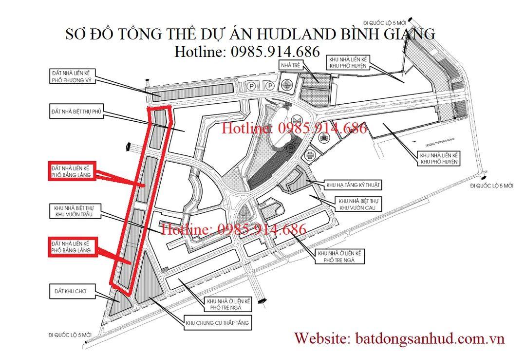 Dự án Hudland Bình Giang Hải Dương 2